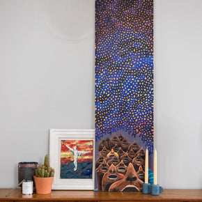 LOOKING AT A MILLION NEW STARS painting I am Nomad