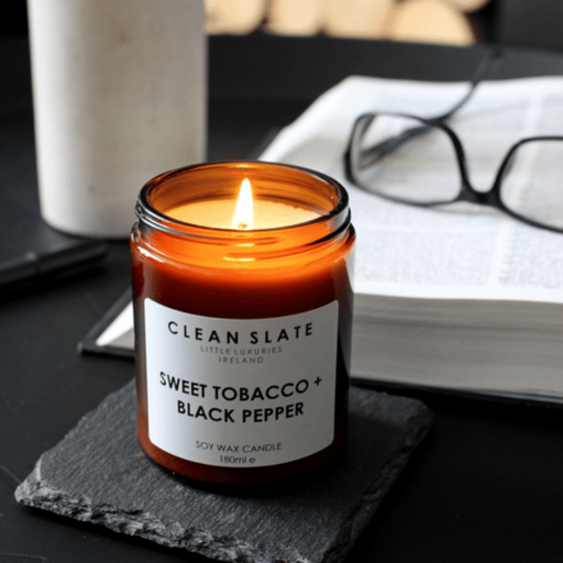 SWEET TOBACCO + BLACK PEPPER CANDLE CANDLE I am Nomad