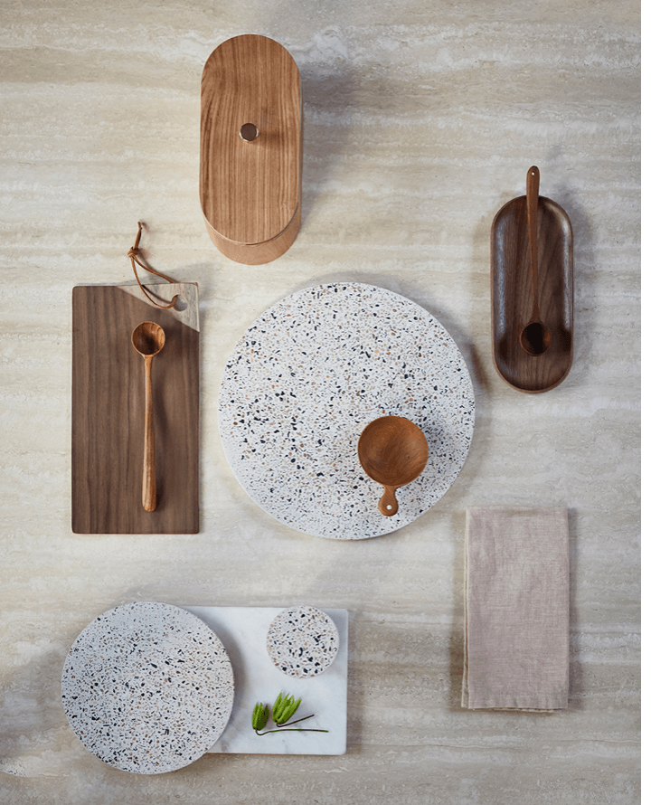 TERRAZZO SERVING TRAY - LARGE I am Nomad