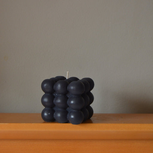 THE BUBBLE CANDLE - BLACK - BY SONDER CANDLE SONDER
