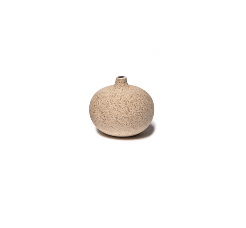 Vase Bari small Sand Medium LINDFORM