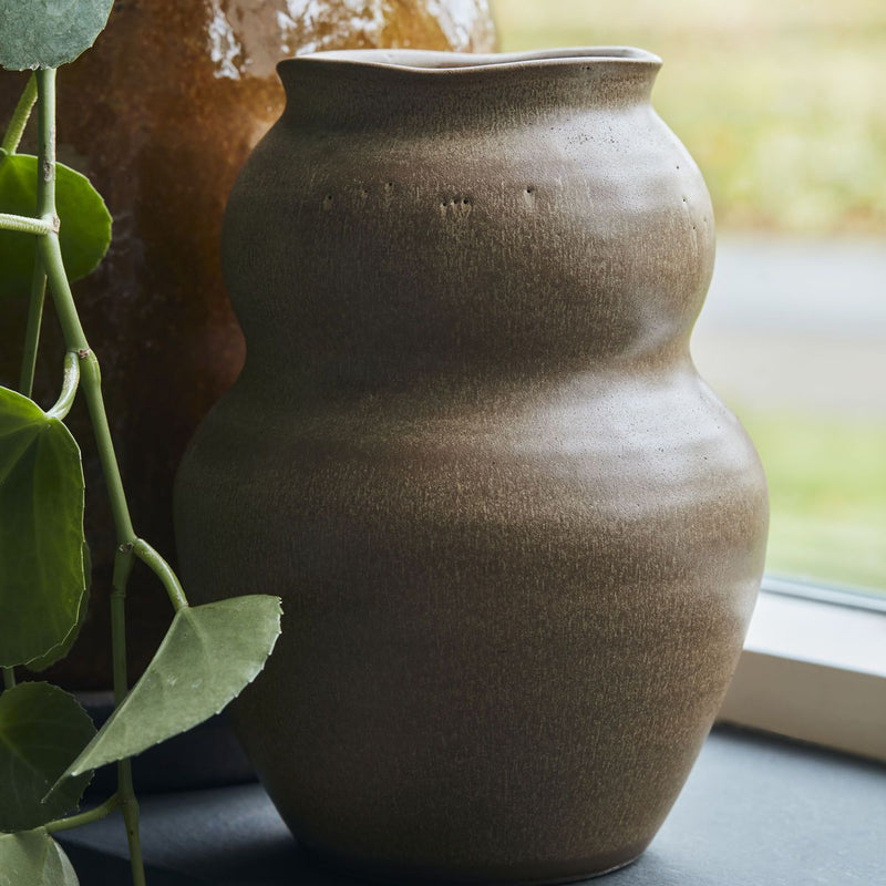 VASE, JUNO, CAMEL LARGE BY HOUSE DOCTOR HOUSE DOCTOR