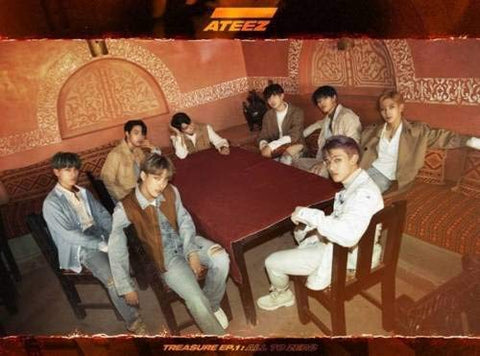 ATEEZ - [Treasure EP.1:All to Zero] 1st CD + Poster