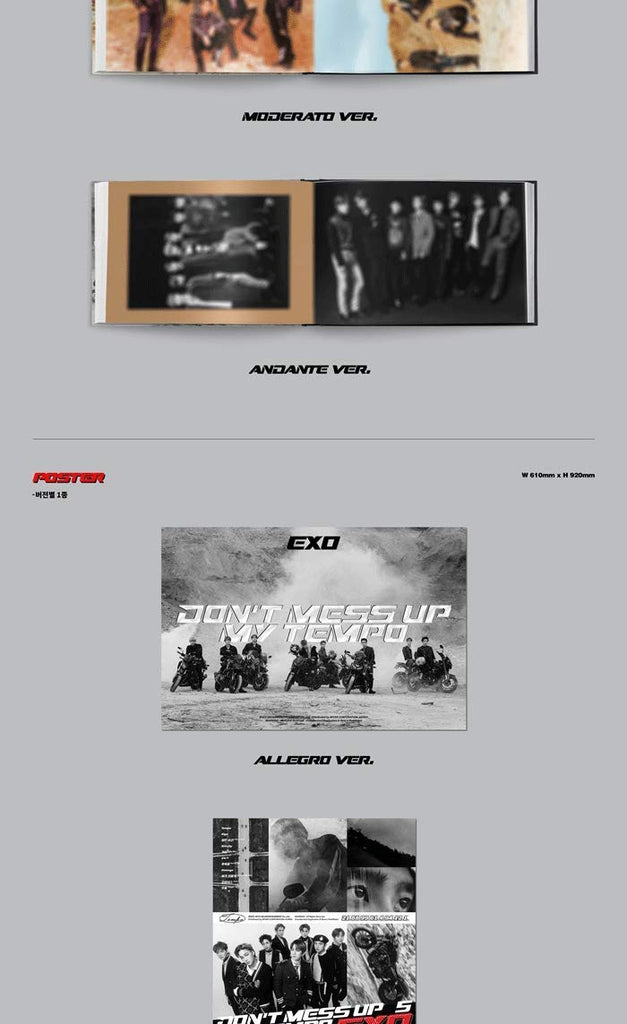 EXO - 'Don't Mess UP My Tempo'  - Versión Andante