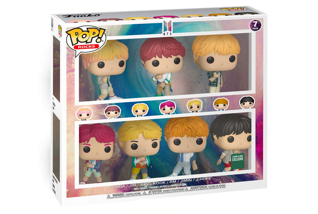 POP! Funko Rocks - BTS -  Pack Exclusivo!