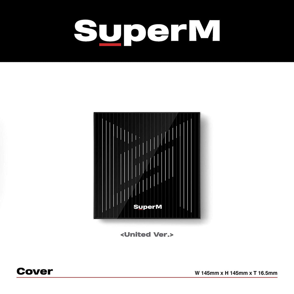 SuperM - 1erMini Album 'SuperM' UNITED Version