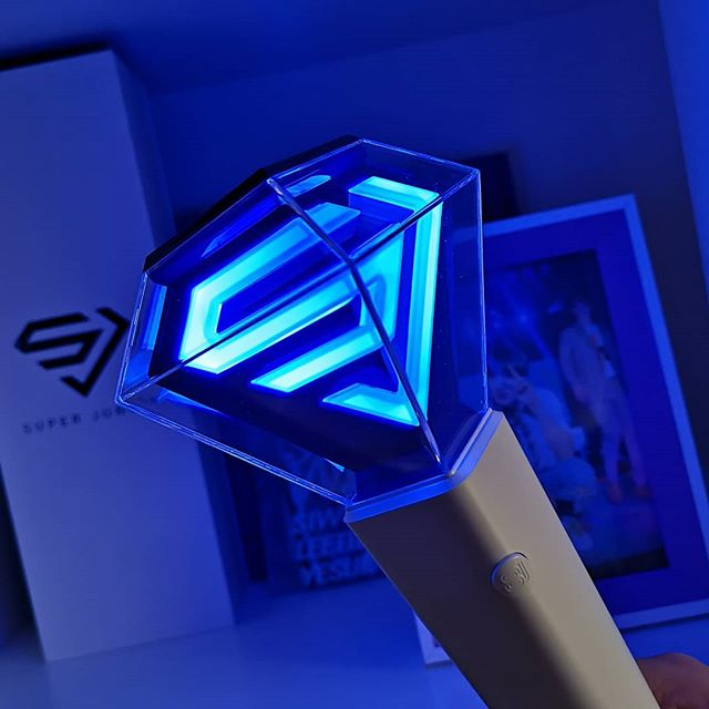 ⭐ Lightstick SUPER JUNIOR - Versión 2 - OFICIAL