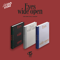 Twice - Album EYES WIDE OPEN (Versión Random) + Poster