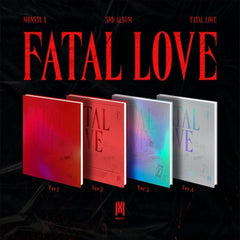 [SET] MONSTA X 3er Álbum - FATAL LOVE ( SET Versión ) 4CD + 4Poster