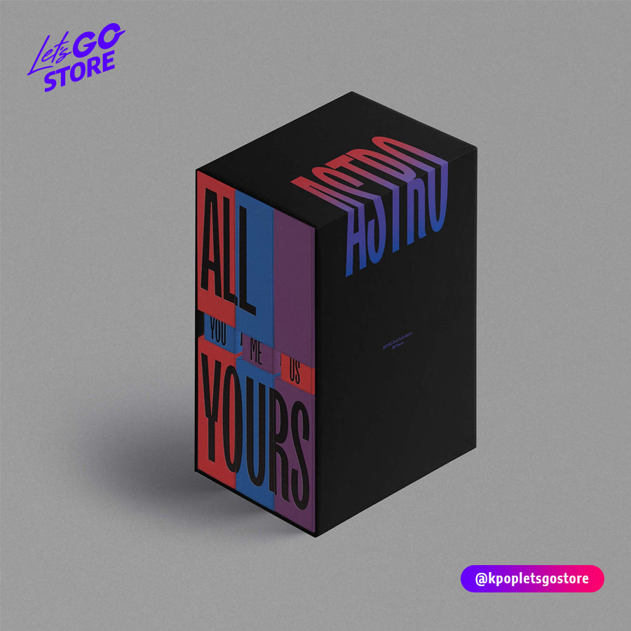 ASTRO - 2do FULL ALBUM [ALL YOURS] SET Ver. LIMITADA (NO OUT SEAL)
