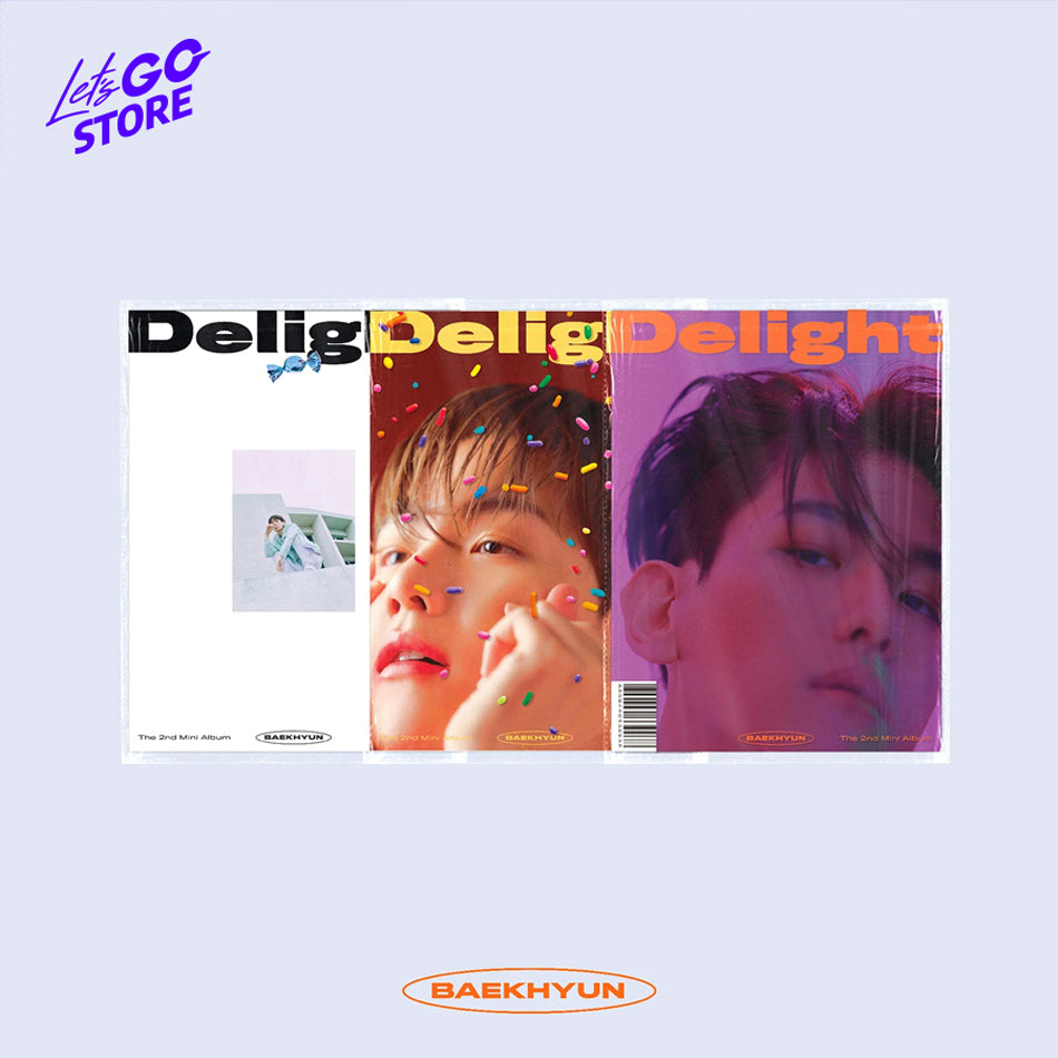 "BAEKHYUN - 2do Mini Álbum ""Delight"""