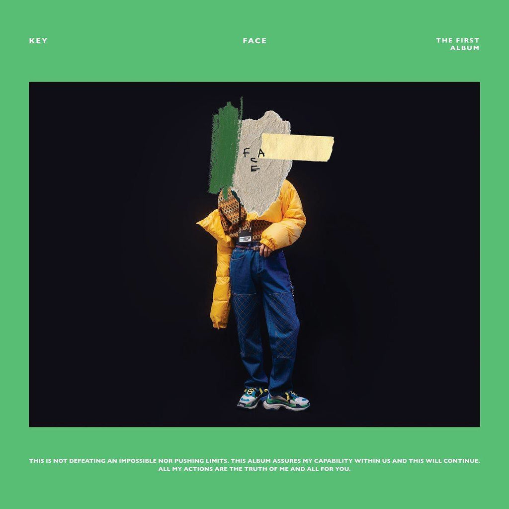 KEY - Album Vol. 1 - FACE (Versión Random)
