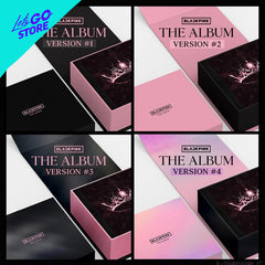 BLACKPINK 1er Álbum - THE ALBUM (Todas las Versiones) 4CD
