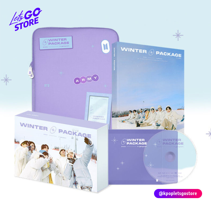 BTS WINTER PACKAGE 2021 COMPRAR