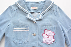 Chaqueta Piggy Kawaii