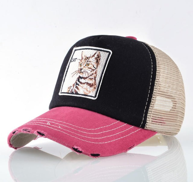 Gorra de Gatito super Cool, disponible en 2 colores diferentes - SWAG