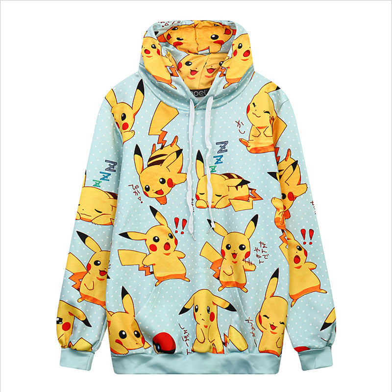 Pullover kawaii Pikachu Reactions