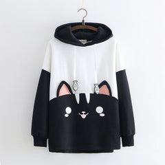 Sudadera Black kitten kawaii