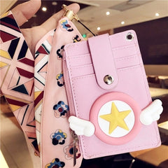 Cartera Kawaii Wings