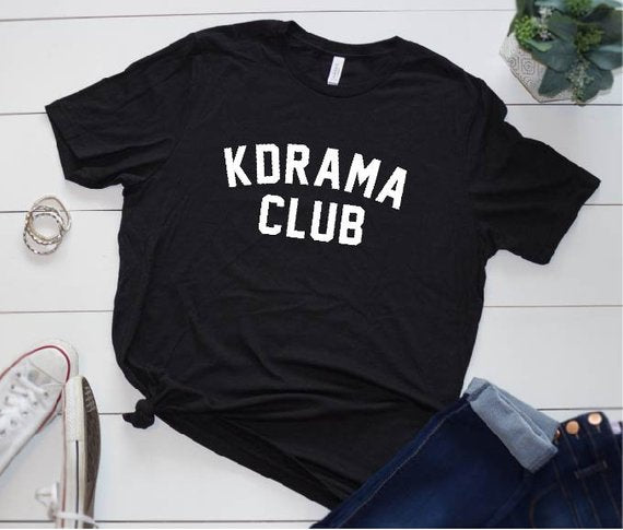 Playera KDrama Club