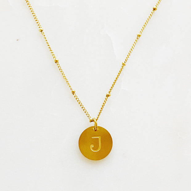 Ellison + Young: Singular Charm Initial Necklace 1