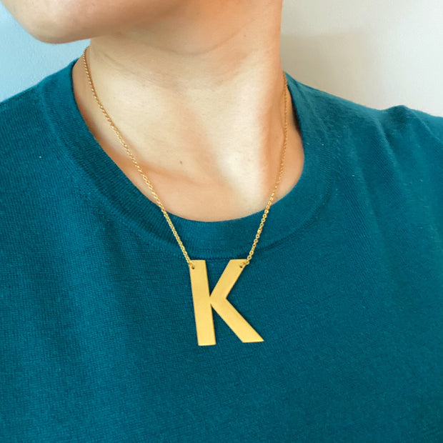 Ellison + Young: Boldly You Initial Necklace 1