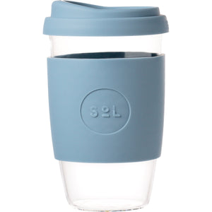 SoL Cups Glass Cup from One Less - Blue Stone 16oz