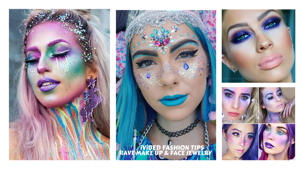 Ravs make up ideas 2019 festival fashion advice 2020 rave wear limited edition festival outfits and clothing