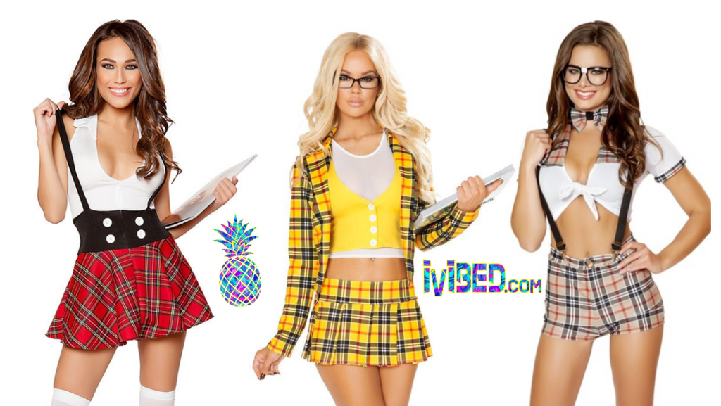 2019 RAVE SCHOOL GIRL CHECKERBOARD FESTIVAL FASHION IDEAS