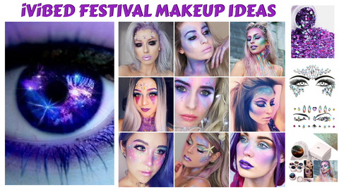 Enchanting festival makeup 2019 rave face paint body jewelry glow in the dark pulls your look together and takes it to the next level. If you're looking for some of the best rave makeup tips and inspiration to help you polish off your next EDM festival look outfit purse jewelry shopping glam