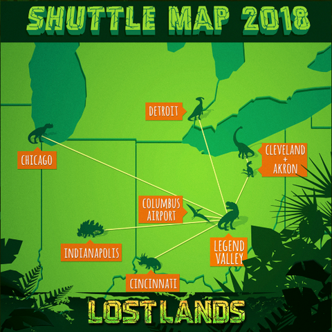THURSDAY EARLY ENTRY + PRE-PARTY (ADD ON) Early Entry is your key to all things Lost Lands on Thursday. Get in early so you have a chance to grab the best camping spot closest to the venue. Plus, new for 2018, we'll be opening up 1 stage inside Lost Lands on Thursday from 6-11pm with surprise sets from some of your favorite artists!