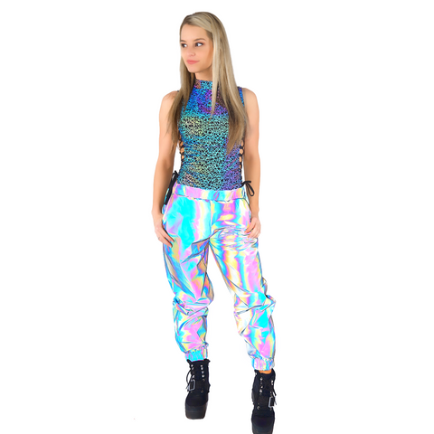 reflective-rave-clothing womens edm reflective clothing. Reflective bodysuits, swimsuits