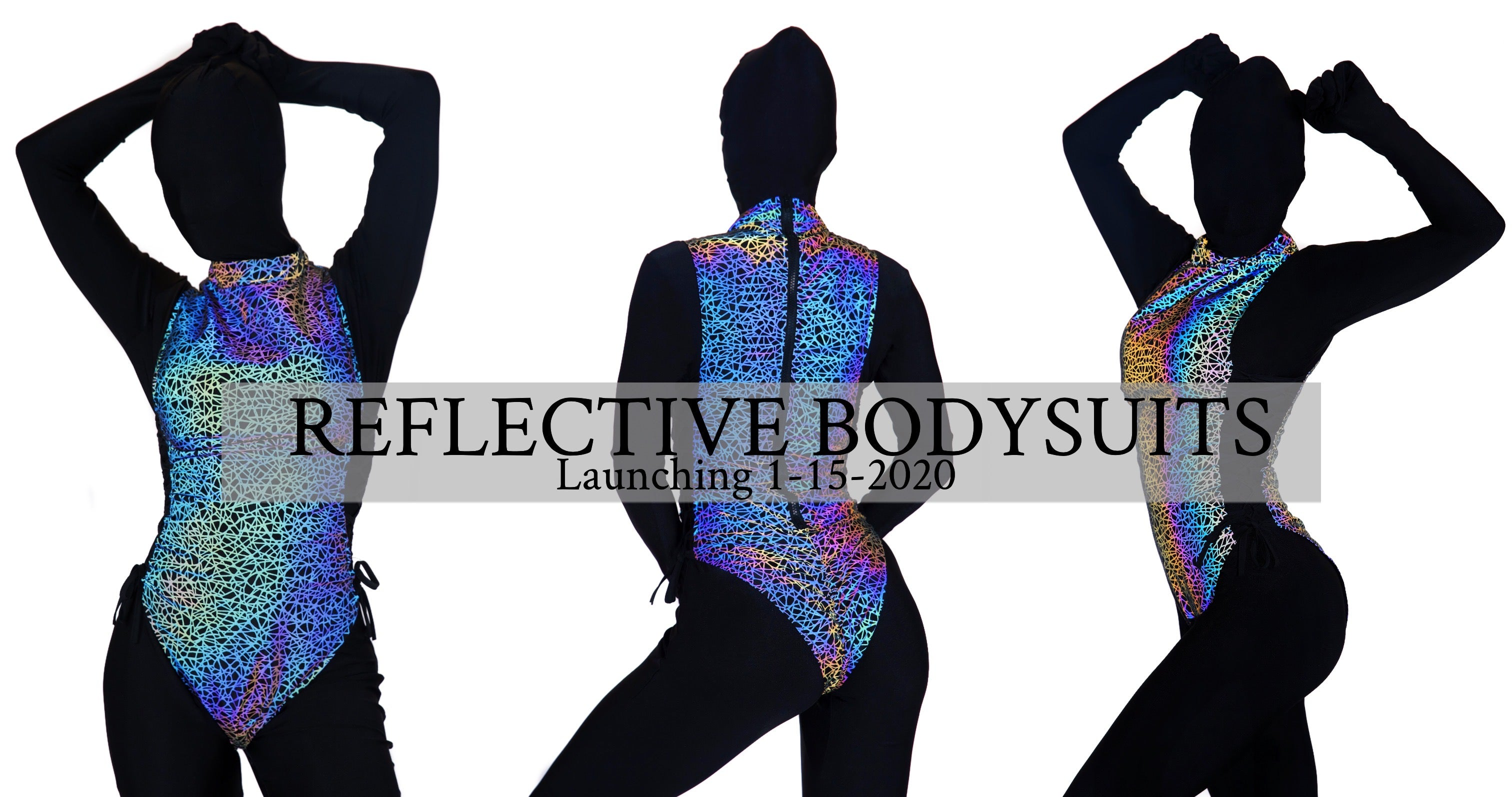 reflective-rave-clothing reflective-bodysuits reflective-rompers leotards swimsuits