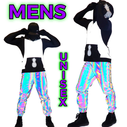 reflective-rave-clothing womens reflective clothing. Reflective bodysuits, swimsuits