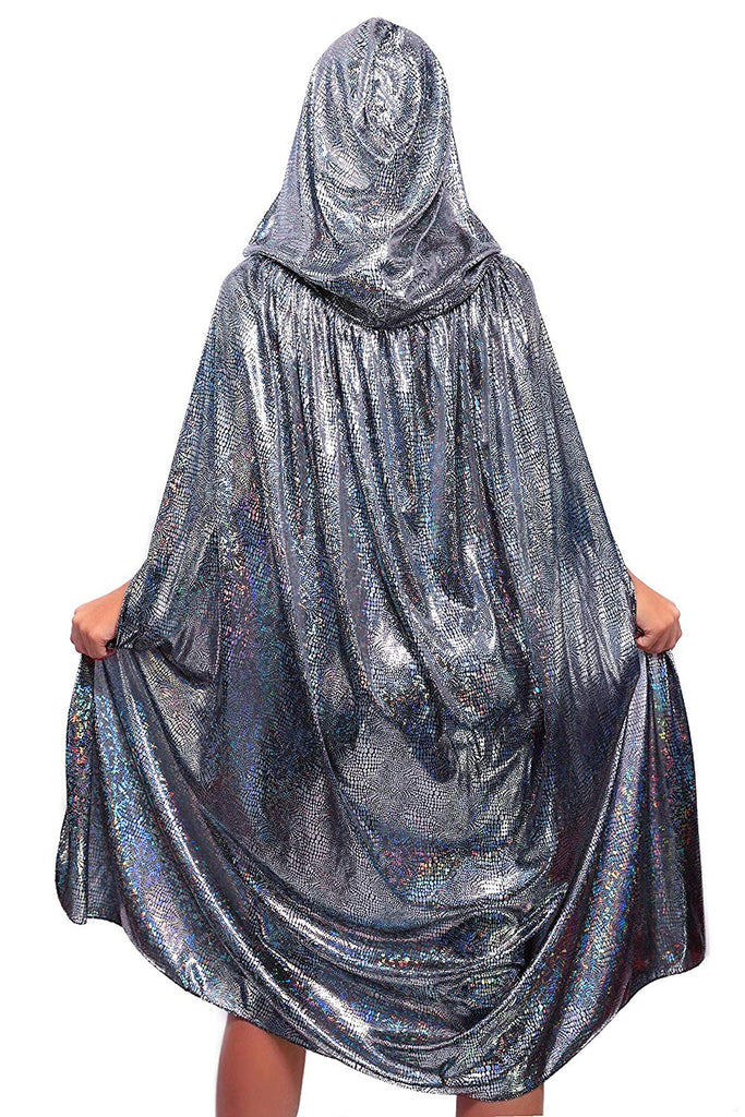 IVIBED Women's Medieval Cloak with Hood - Men Super Hero Costume Cape Festival Clothes