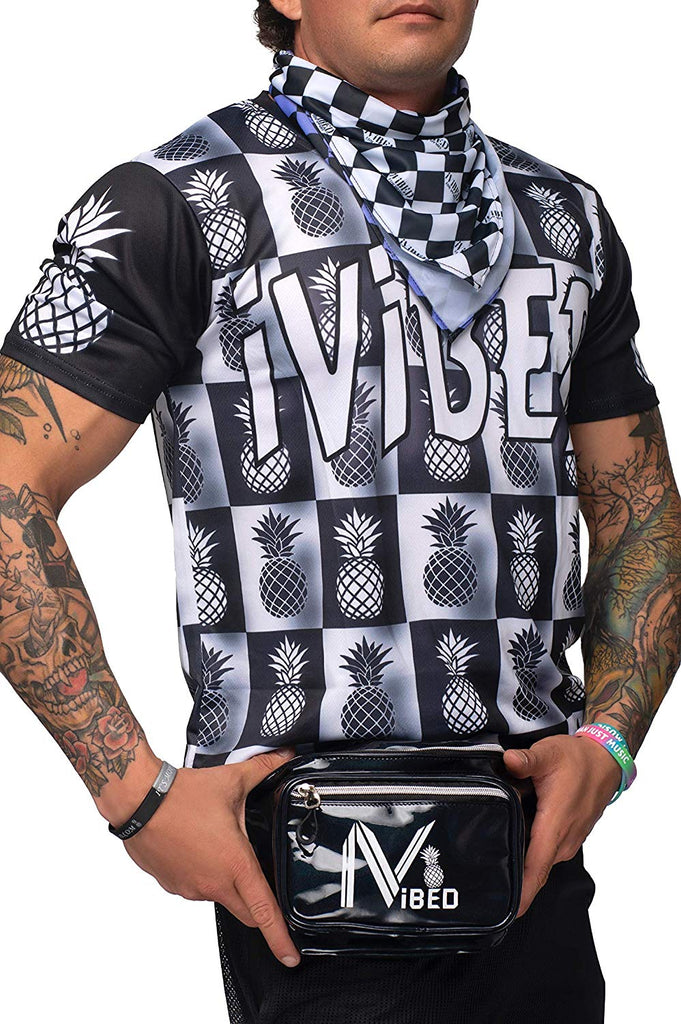Mens Rave Jersey - Checkerboard
