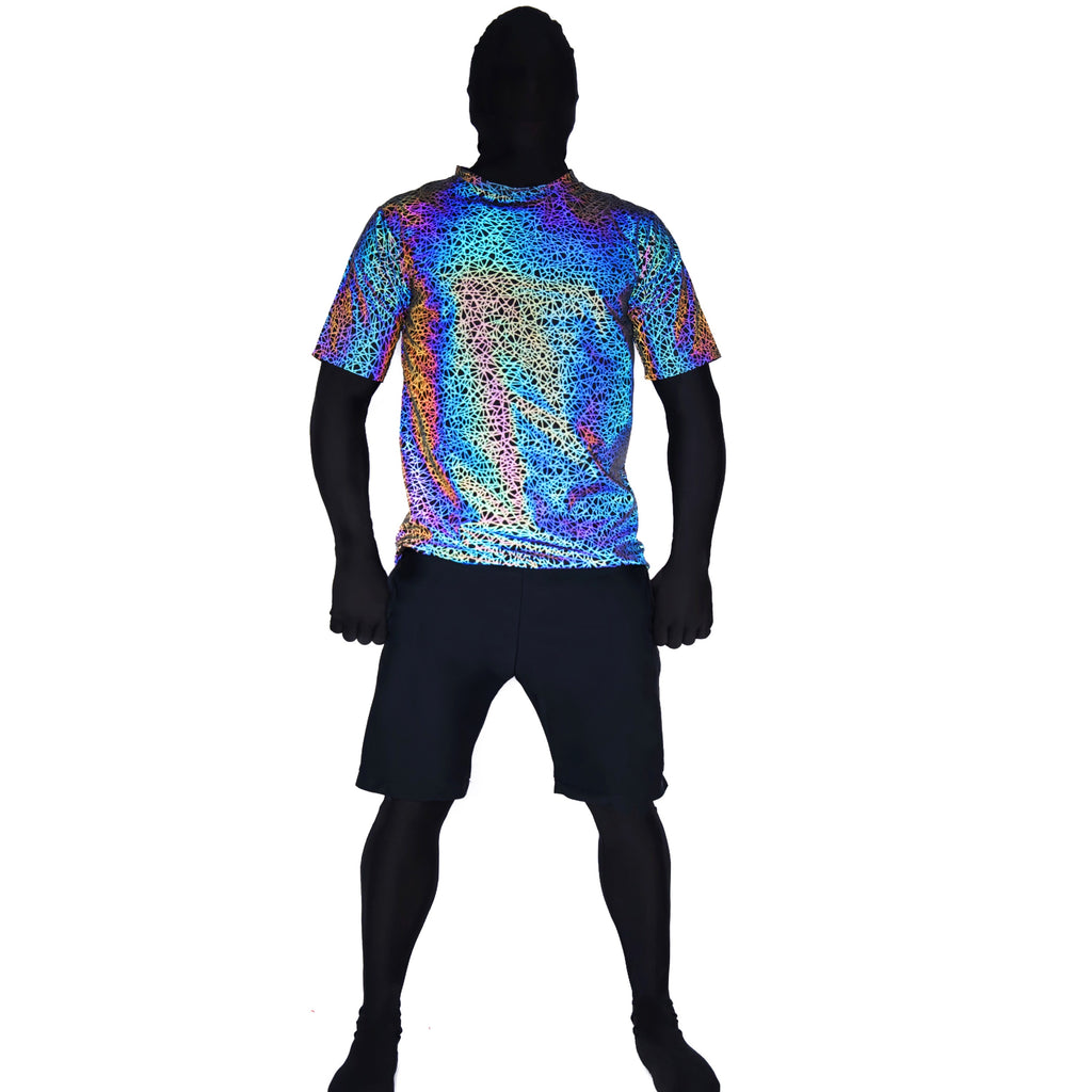 Reflective T-Shirt Jerseys - Full Sacred Geometry