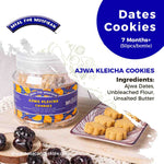 MFM Ajwa Dates Cookies 50pcs/bottle (7M+)