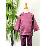 Dusty Purple Traditional Baju Melayu (KIDS)