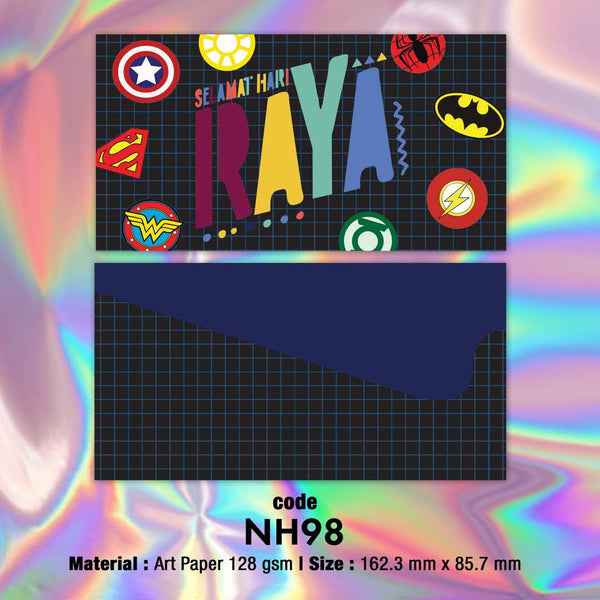 NH98 Super Heroes Raya Envelopes