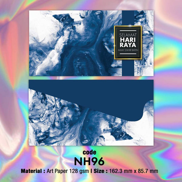 NH96 Blue Marble Raya Envelopes