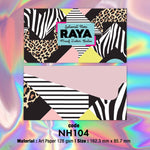 NH104 Animal Prints Raya Envelopes