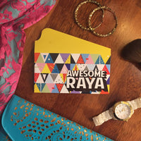 NH105 Triangles Raya Envelopes *PREORDER*