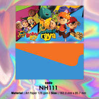 "NH111 ""Boboi Boy"" Raya Envelopes"