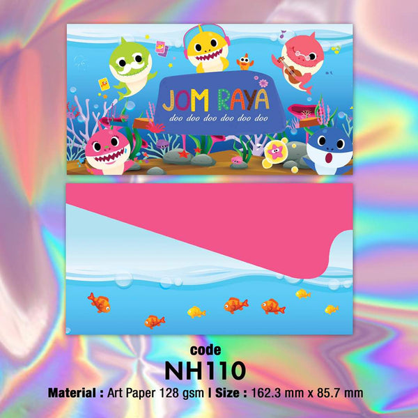 "NH110 ""Baby Shark"" Raya Envelopes *PREORDER*"