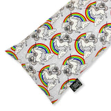 Rainbow Unicorn Buckwheat Pillow
