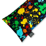 Paint Splatter Buckwheat Pillow