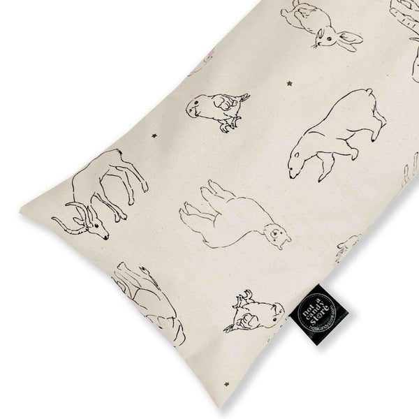 Scandinavian Animals Buckwheat Pillow