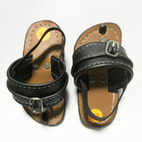 Brown sole/Black strap Capal