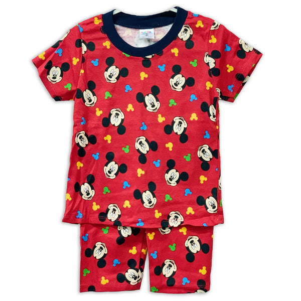 Mickey Red Playset